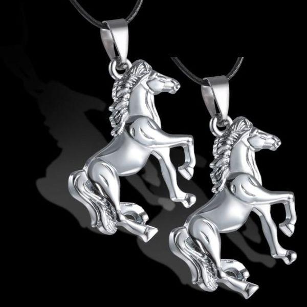 Set of 2 Horse Pendants from My Shalu