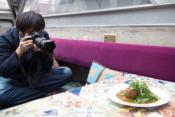 【バンタンデザイン研究所】Advertising授業レポート!フォトグラフィ学科が、恵比寿の老舗ネパール料理店で料理撮影!
