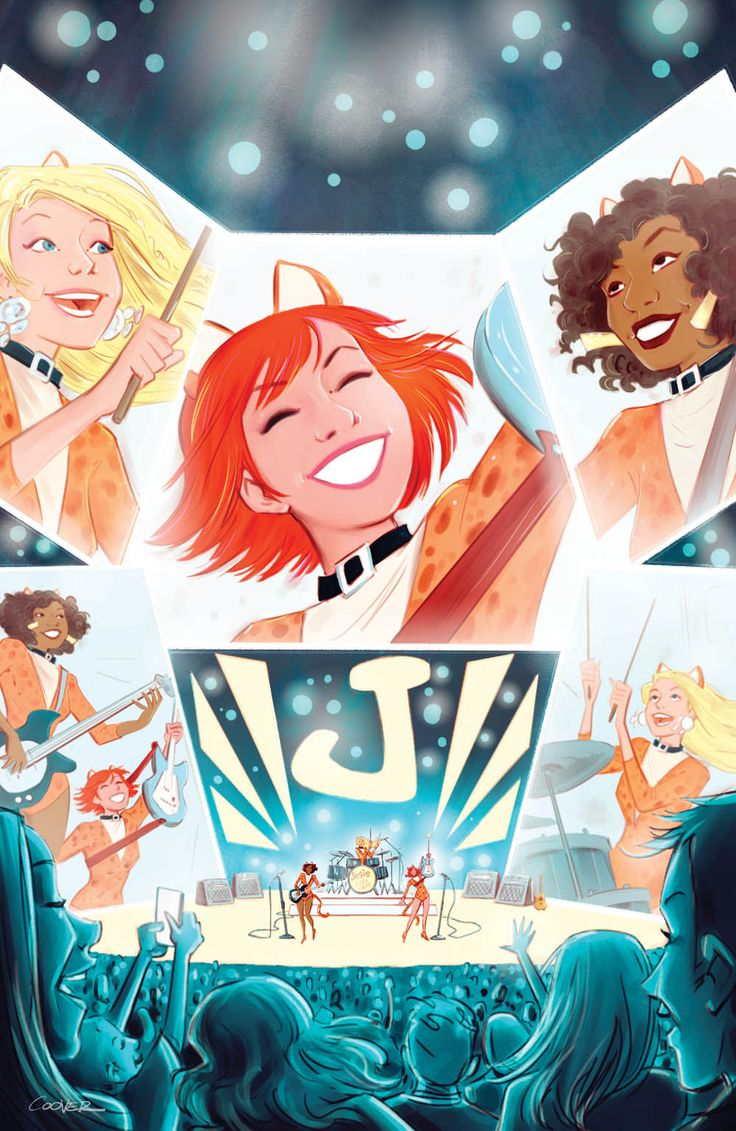"""EXCLUSIVE: """"Josie and the Pussycats"""" Variants by Charm, Coover & Martinez"""