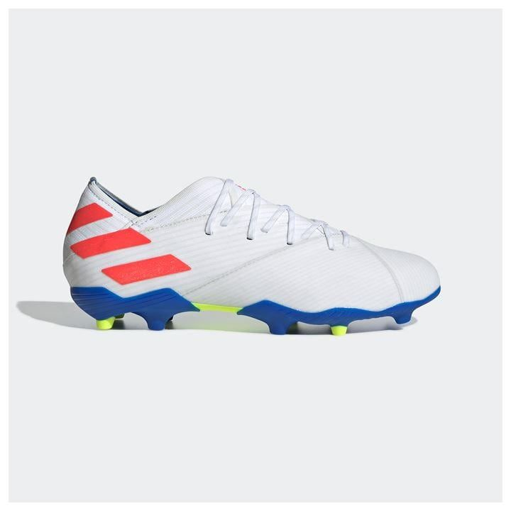 Nemeziz Messi 19 1 Junior Fg Football Boots In 2020 Football Boots Kids Football Boots Messi Football Shoes