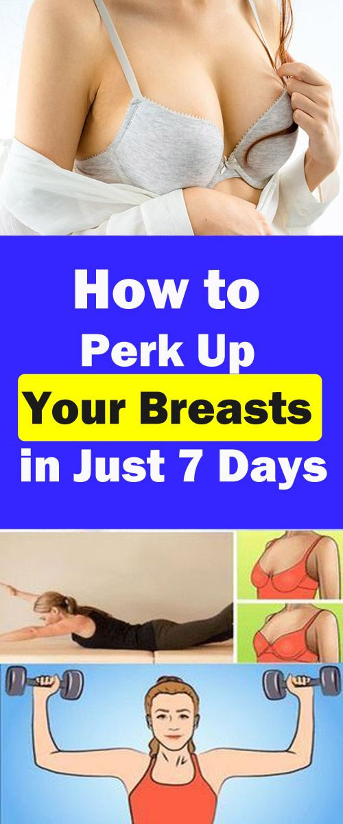 How to perk up your breasts