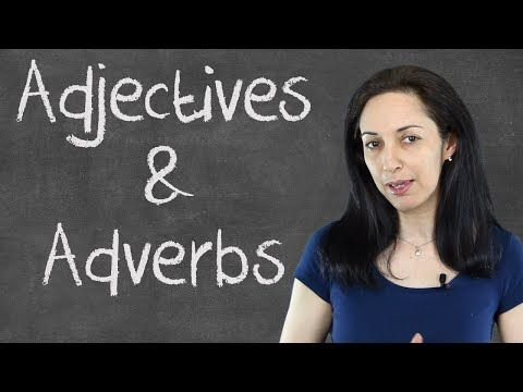 Common Mistakes with Adjectives & Adverbs - English Grammar Lesson - YouTube