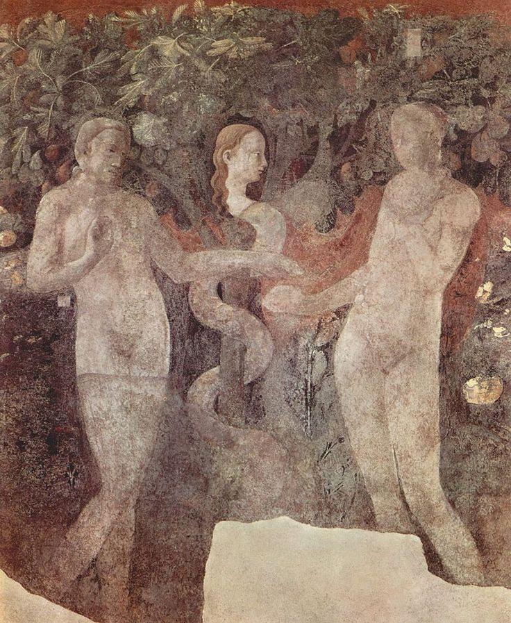 Paolo Uccello - Peccato originale - 1425-1430 - Chiostro Verde - Museo di Santa Maria Novella, Firenze