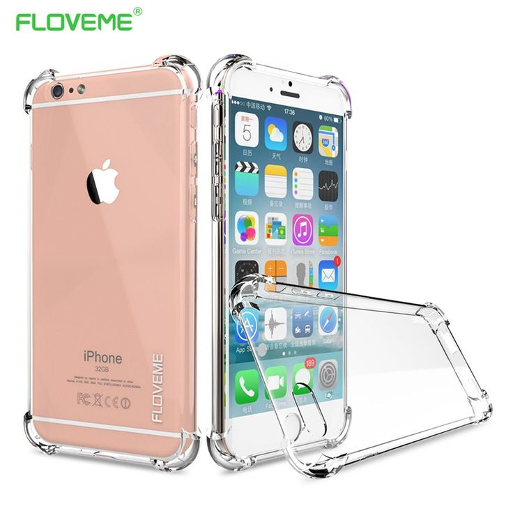FLOVEME For iPhone 6 6s Plus 7 Case For iPhone 7 7 Plus Coque Clear Full Protection of 360 Degree Drop Resistant Anti-knock Capa www.peoplebazar.net    #peoplebazar