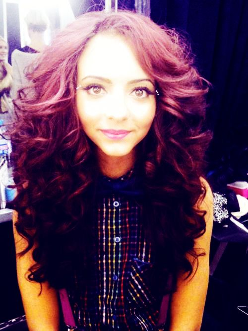 mix hair styles jade thirlwall the fullness of hair curls hair 4106
