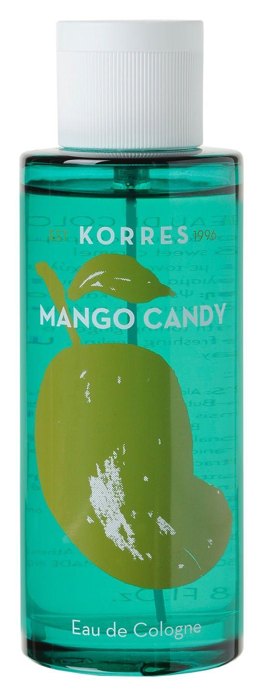 Mit Mango Candy Eau de Cologne Spray von Korres dürfen Sie in süßen Träumen schwelgen, ganz ohne Kalorien zählen zu müssen. Verwöhnen Sie sich mit Mango Candy, wann immer Ihnen der Sinn nach einer fruchtig-süßen Belohnung steht. Denn Süßigkeiten in jeder Form sind Balsam pur für die Seele - auch wenn sie nicht zum Essen gemacht sind. Dieses Eau de Cologne Spray ist einer der Düfte, dem Frauen und Männer gleichermaßen nicht widerstehen können.