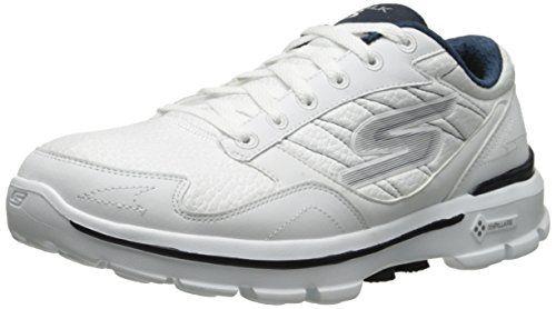 Skechers Performance Men's Go Walk 3 Leathertex Slip-On Walking Shoe, White/Navy, 7 M US Skechers http://www.amazon.com/dp/B005LCB5F6/ref=cm_sw_r_pi_dp_-jeexb0ZWXX09