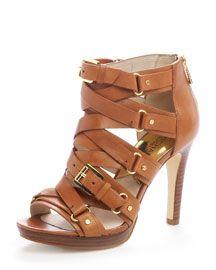 Michael Kors Gladiator Pumps.Shoes, Summer Sandals, Fashion, Michael Michael, Style, Kors Leonia, Michael Kors, Leonia Sandals, Michaelkors