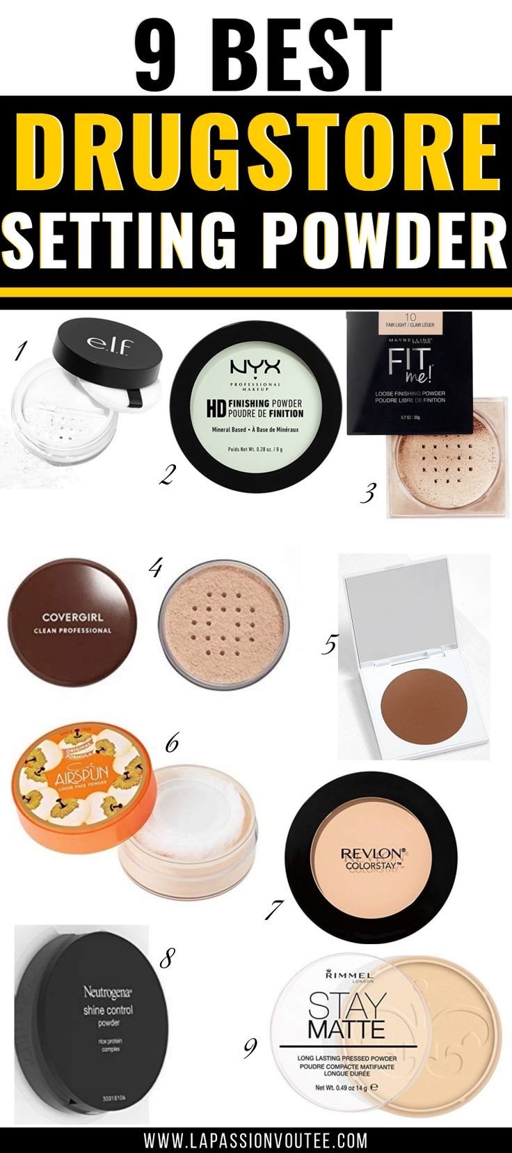 Best Drugstore Setting Powders under 15 (That Really Work