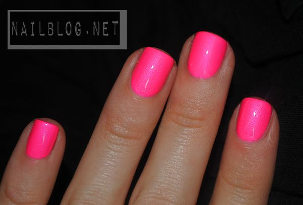 """china glaze """"Pink Voltage"""" neon pink @Adrienne Frankenfield Photography FOR SOME SQUEE"""