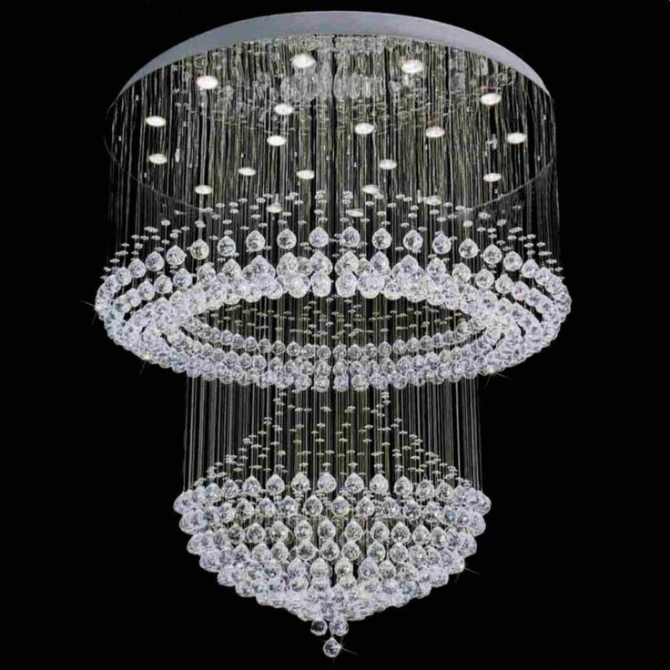 Modern Crystal Chandelier for Foyer