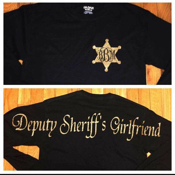 Deputy sheriffs girlfriend by StudioChaseDesigns on Etsy