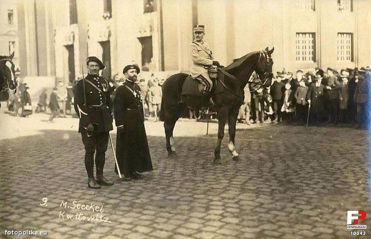 Katowice rynek 20 marca 1921 r