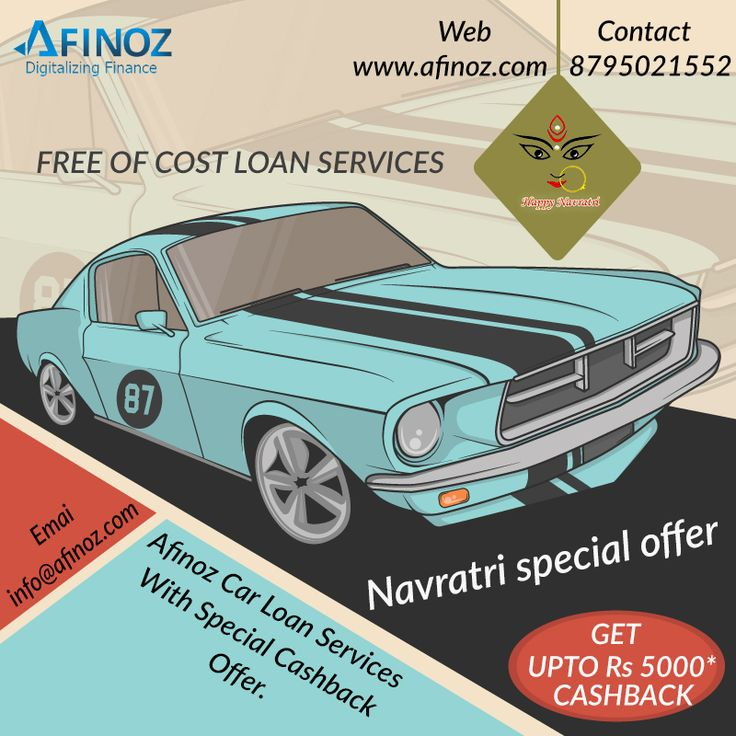 This Navratri Avail Car loan, the best you can get! Contact Afinoz ...