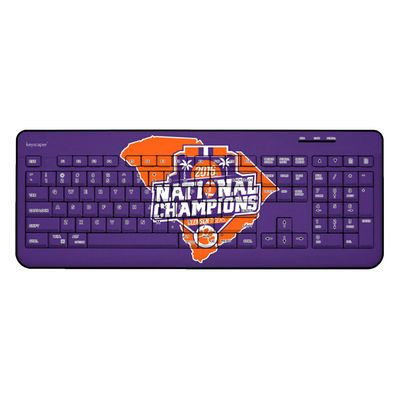 Clemson Tigers College Football Playoff 2016 National Champions Wireless USB Keyboard  In ORANGE