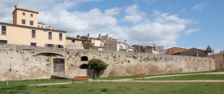 Restos del recinto amurallado (s. XIII-XVIII).