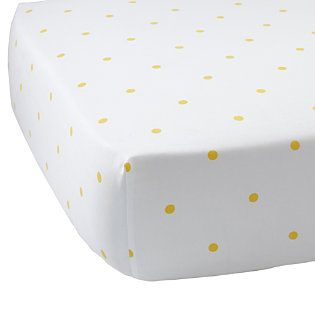 Penny Dot Crib sheet