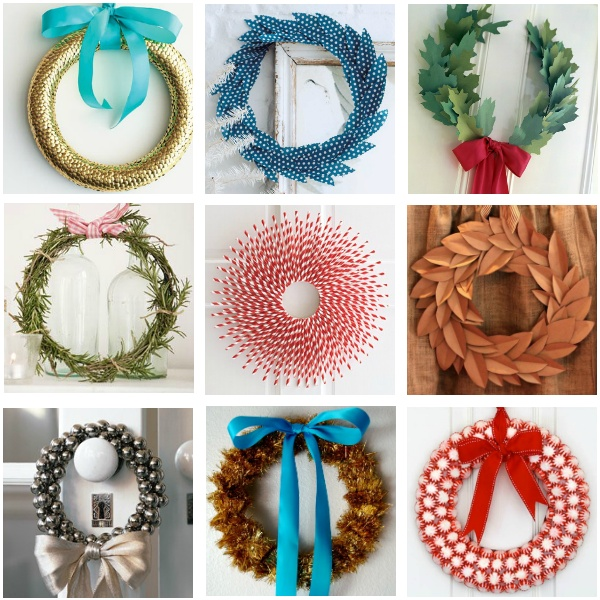 DIY CHRISTMAS WREATHS | ANDREA JENNISON INTERIORS