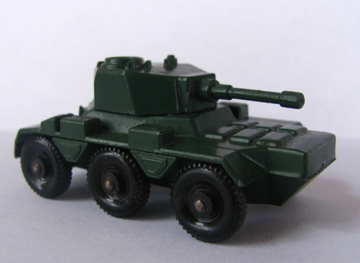 MATCHBOX LESNEY NO 67 SALADIN ARMOURED CAR 6X6 Armored