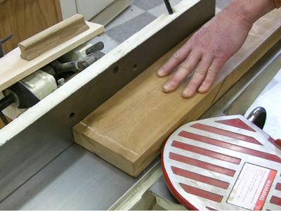 planing rough-sawn lumber