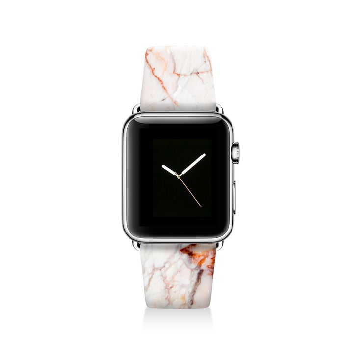 Marble Apple watch band, Decouart Apple watch strap S053