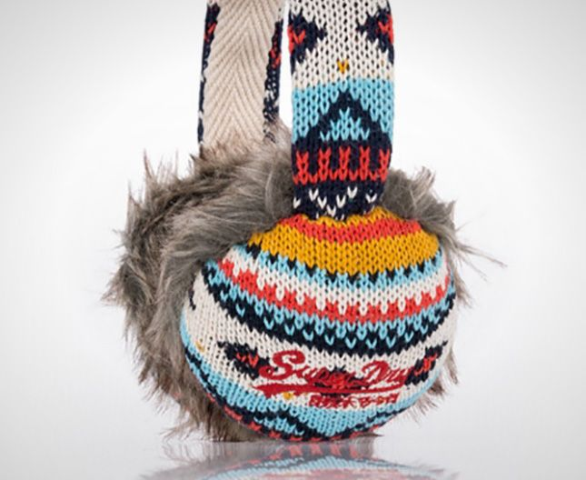Check out these cool Nordic-inspired ear muffs.