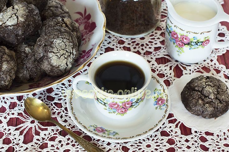 📌 Шоколадное печенье с трещинками (без яиц)! К чашечке кофе ☕ или чая 😉  ➡ http://vypechka-online.ru/pechene-pryaniki-vafli/postnoe-pechene-s-treshhinkami/  #Шоколадное #Печенье #Трещинки #Какао #Выпечка #Вкусняшка #Рецепты #ВыпечкаОнлайн #Chocolate #Cookies #Cracks #Cacao #Cakes #Yummy #Recipes #CakesOnline