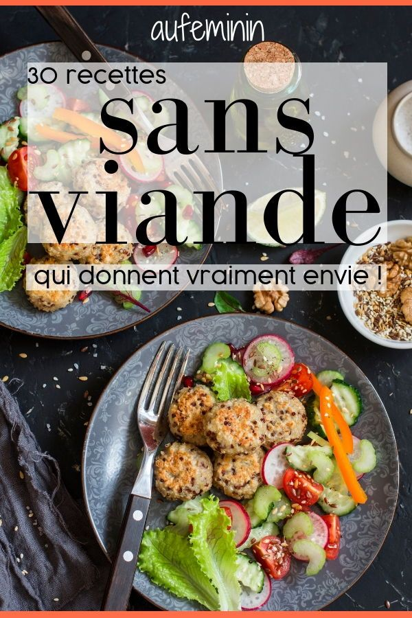 Idée Menu Viande 30 recettes végétariennes vraiment gourmandes | Menu sans viande