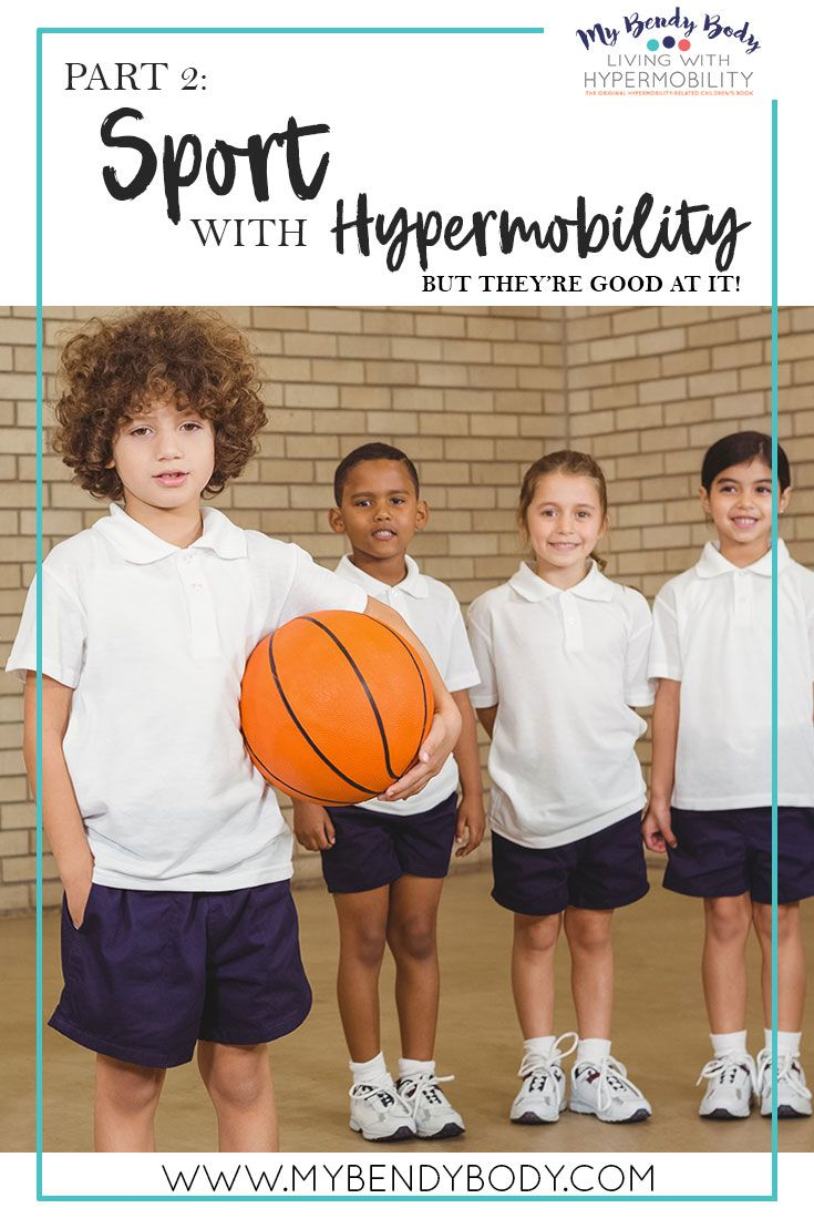 Part 2: Sport with Hypermobility - But they're good at sport!