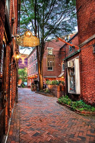 Downtown Portsmouth New Hampshire