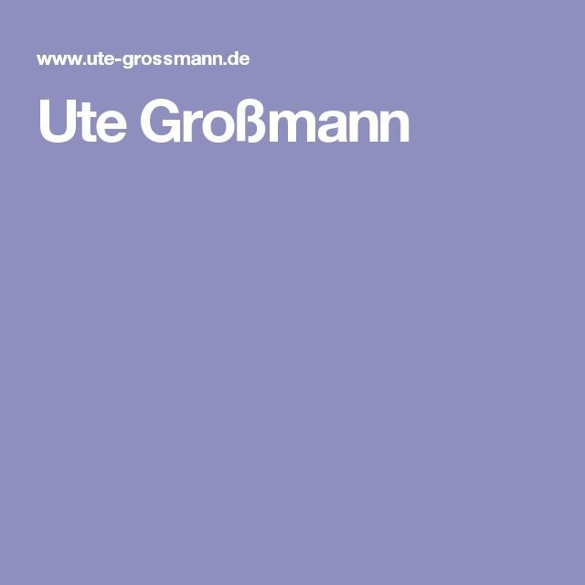 Ute Großmann