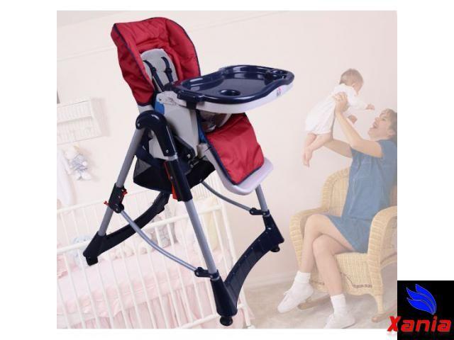 Xania | Chaise haute pour bébé/enfant grand confort | Enfants - bébés | Ganshoren | Région de Bruxelles-Capitale