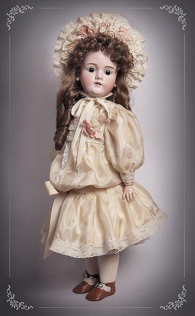 antique doll Kley & Hahn Walkure by dollsformama, via Flickr