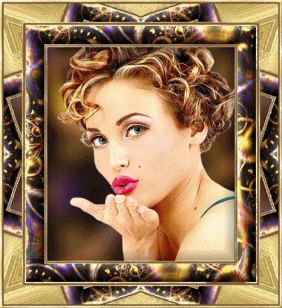 gifs mandando beijos | Recados e mensagens para facebook de Beijos, imagens, gif, glitter ...