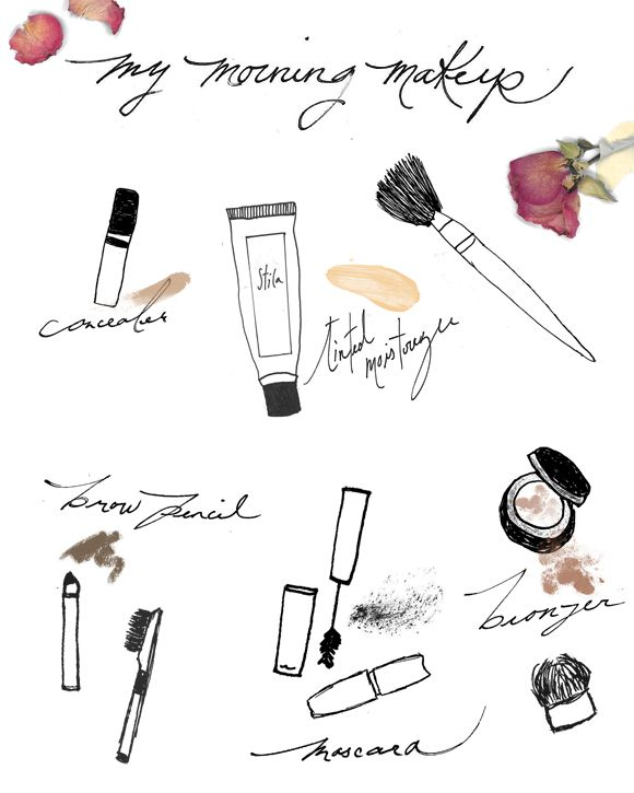 Easy Morning Makeup Routine | Free People Blog #freepeople