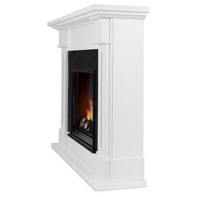 Real Flame - Kipling Gel Fireplace-White, White