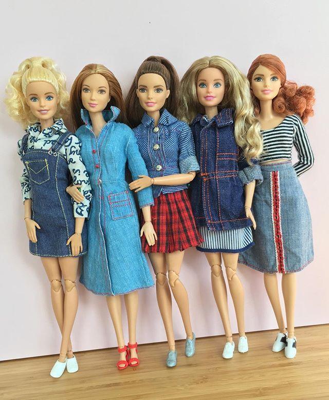 Vintage denim  #barbiestyle #barbie #barbiedoll #barbiefashionista #barbiemadetomove #madetomovebarbie #dollphotogallery #dollclothes #dollcollector #vintagedenim #denim