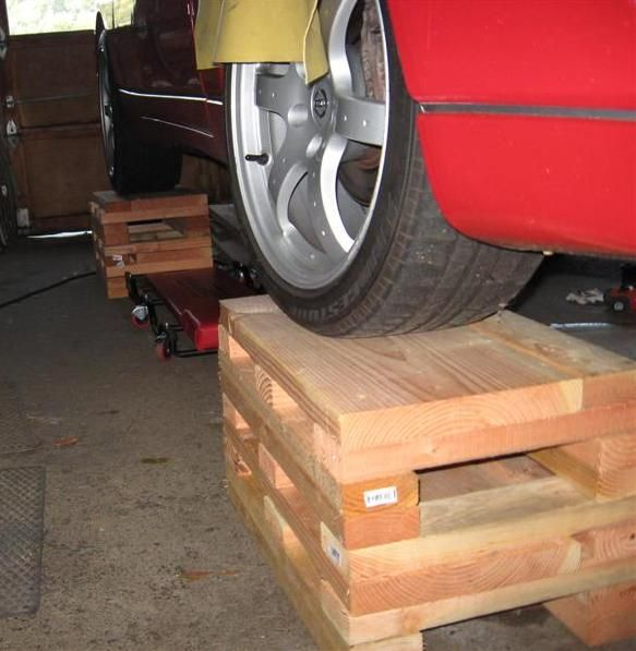 32 best images about car ramps on pinterest for Car lift plans