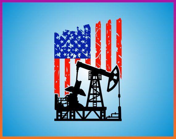 Hanes Tagless Tee T-Shirt American Pipeliner Flag