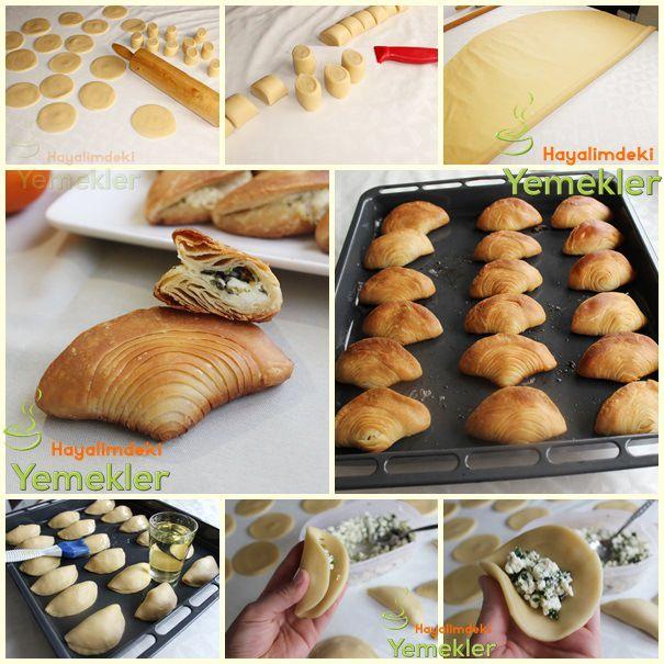 Midye Börek Tarifi ( el açması ) (Turkish) - Mussels Pastry Recipes (hand opening)