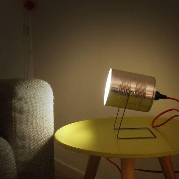 Lovely Lampe spot boite de conserve
