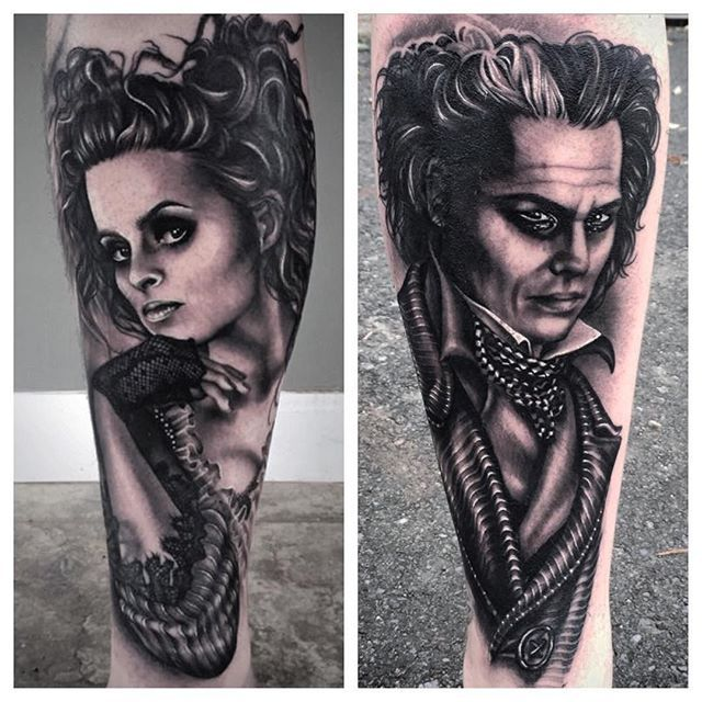 17 best images about ryan ashley malarkey on pinterest for Sweeney todd tattoo