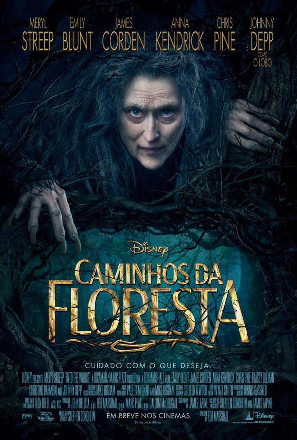 """Pôster nacional do filme """"Caminhos da Floresta"""" http://cinemabh.com/imagens/poster-nacional-do-filme-caminhos-da-floresta"""