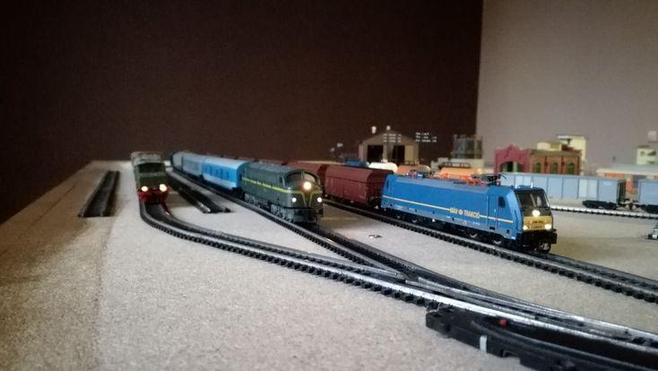 Digitalized old BTTB trains