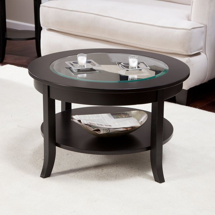 Round Espresso Coffee Table - ashley Living Room Furniture Sets Check more at http://www.buzzfolders.com/round-espresso-coffee-table/