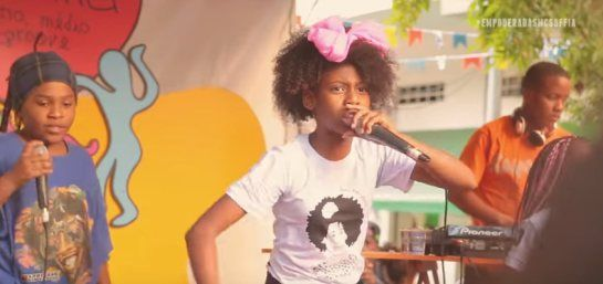 The little black princess of Hip Hop: MC Soffia has sung about empowering black girls since the age of six