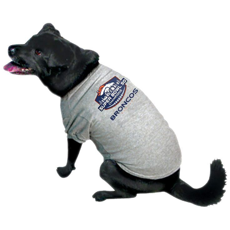 Denver Broncos Super Bowl 50 Champions Pet T-Shirt - $15.99