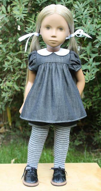 Sasha doll great outfit and hair vintage-sasha.blogspot.co.uk