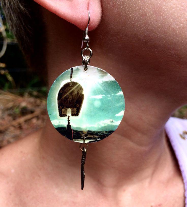 Earring blue $35,00 peca