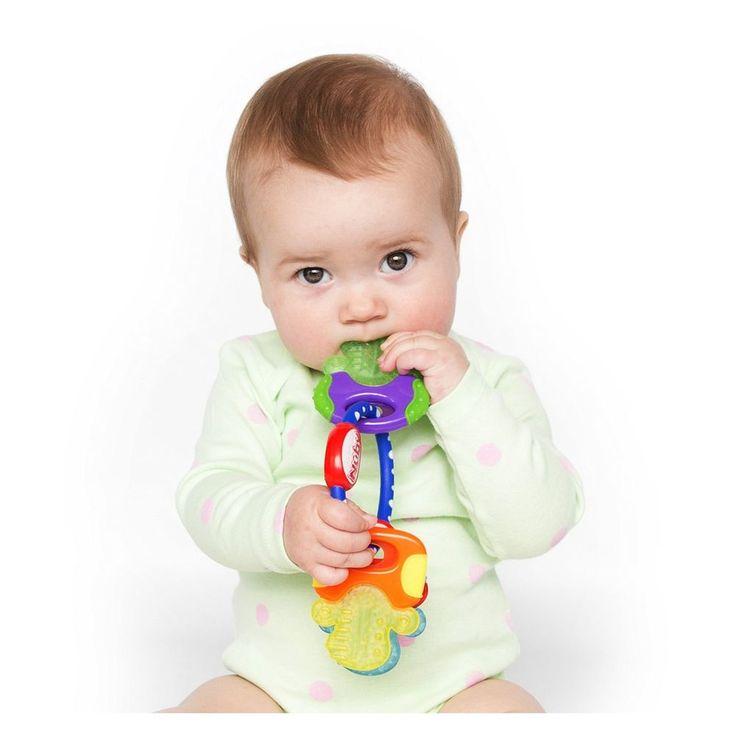 Hard Soft Teething Keys Best For Kids Toddler Multicolor Teether Multisurface  #Nuby